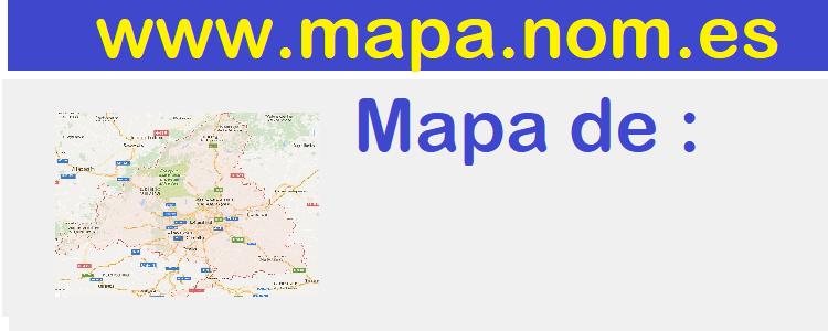 mapa de  Hinojales