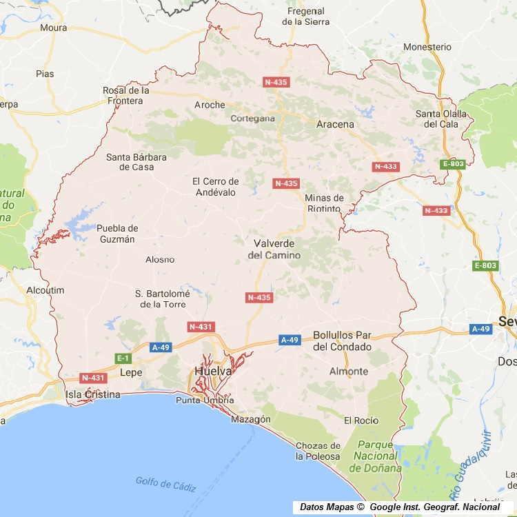 Mapa De Huelva Capital.Mapa Callejero De Huelva Huelva Plano