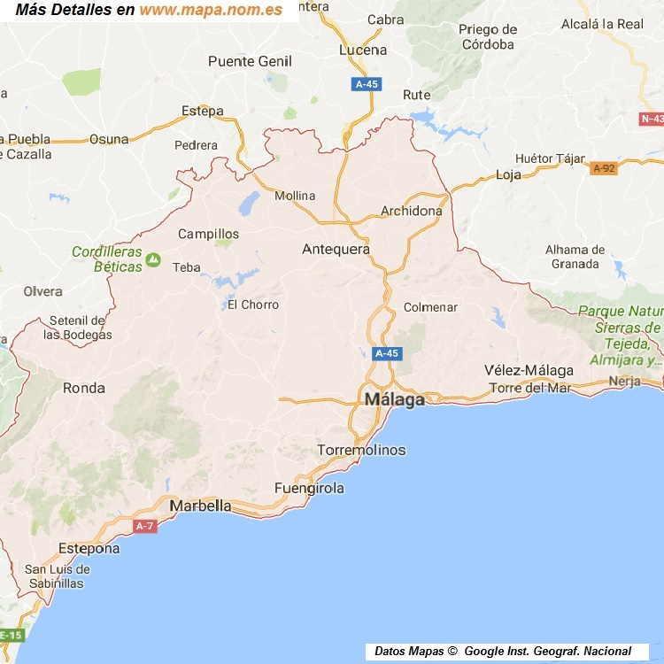 Mapa Callejero De Malaga.Mapa Callejero De Malaga Malaga Plano