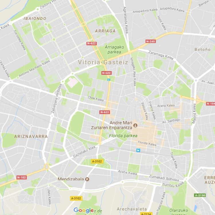 Mapa Callejero de Vitoria-Gasteiz